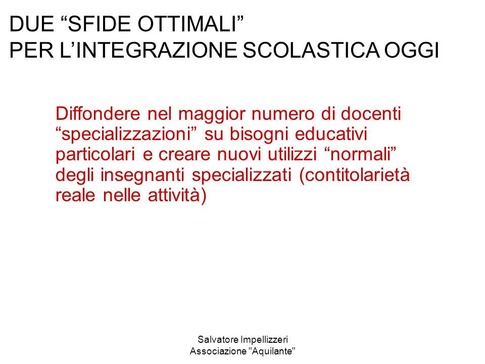 Salvatore Impellizzeri Associazione Aquilante