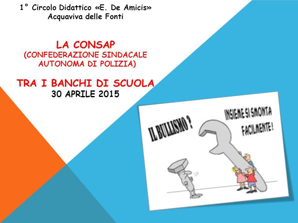 1° Circolo Didattico «E. De Amicis» (CONFEDERAZIONE SINDACALE