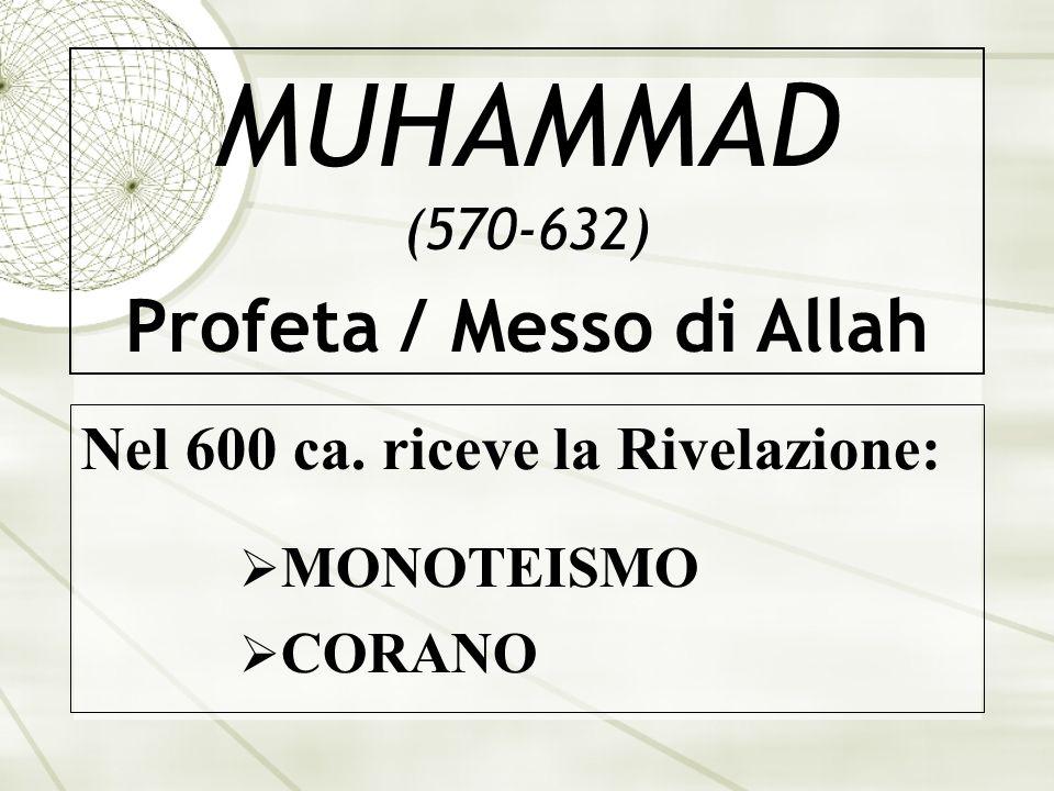 MUHAMMAD (570-632) Profeta / Messo di Allah