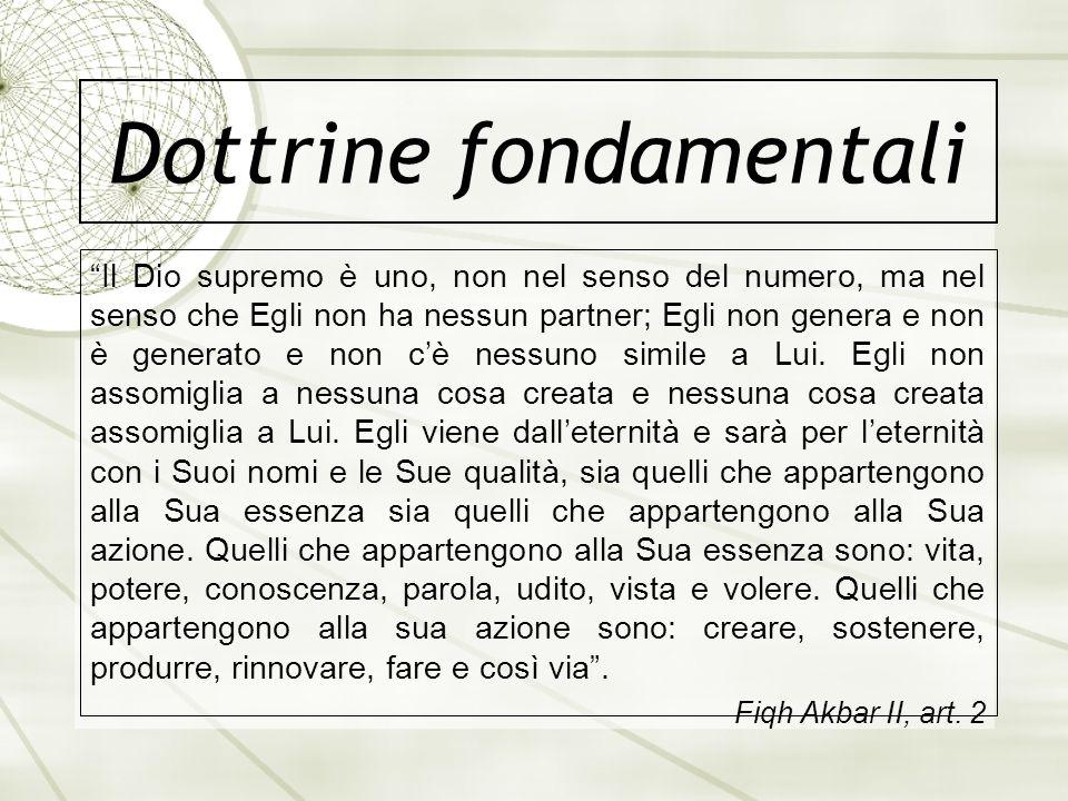 Dottrine fondamentali