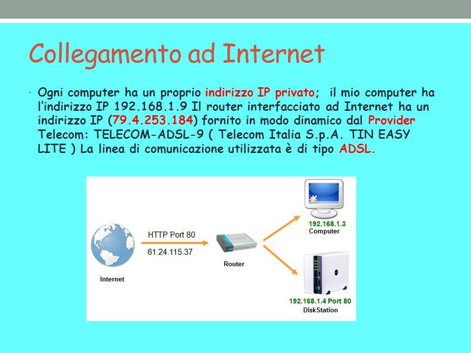 Collegamento ad Internet