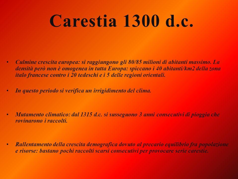 Carestia 1300 d.c.