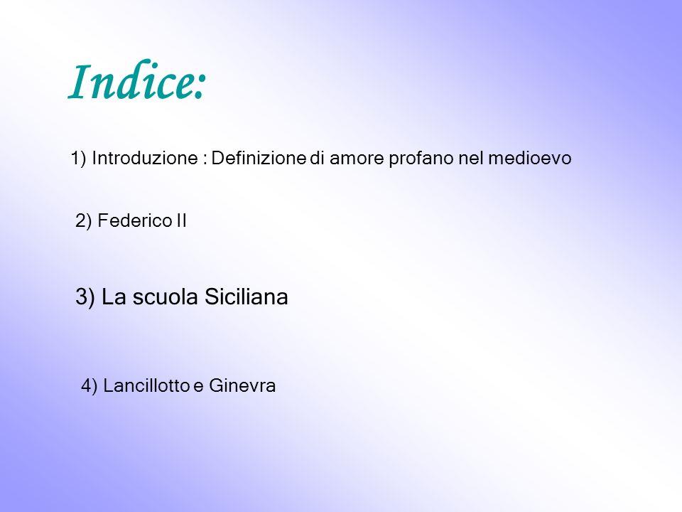 Indice: 3) La scuola Siciliana