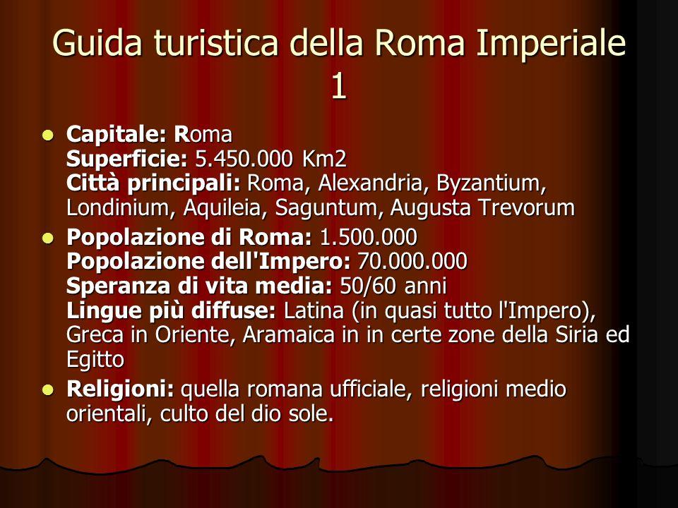 Guida turistica della Roma Imperiale 1