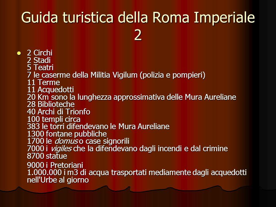 Guida turistica della Roma Imperiale 2
