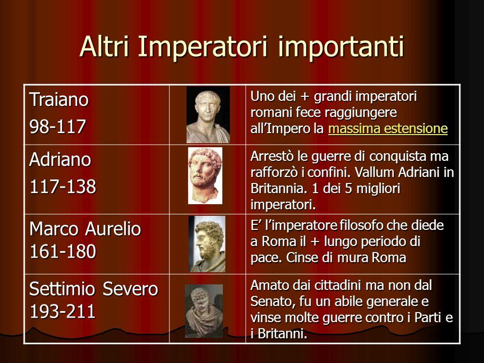 Altri Imperatori importanti