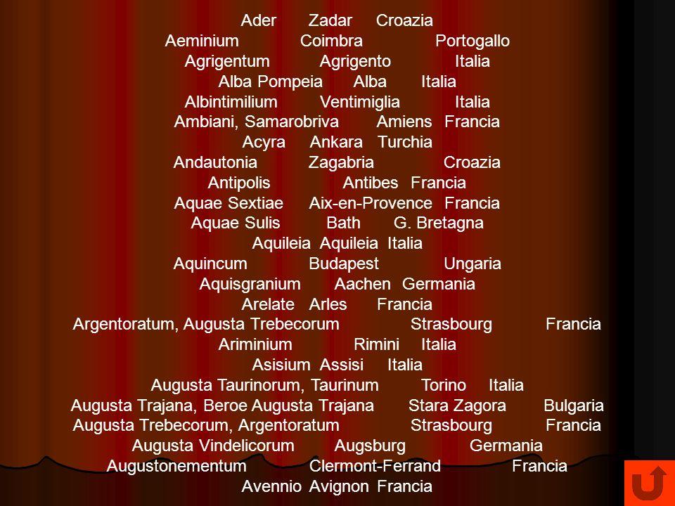 Aeminium Coimbra Portogallo Agrigentum Agrigento Italia