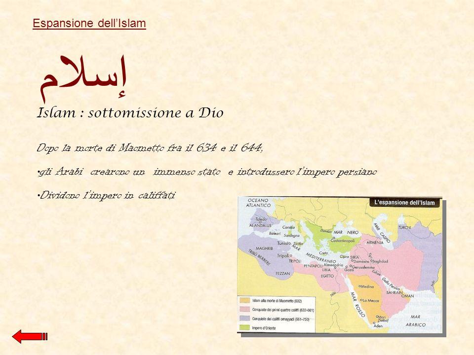 إسلام Islam : sottomissione a Dio