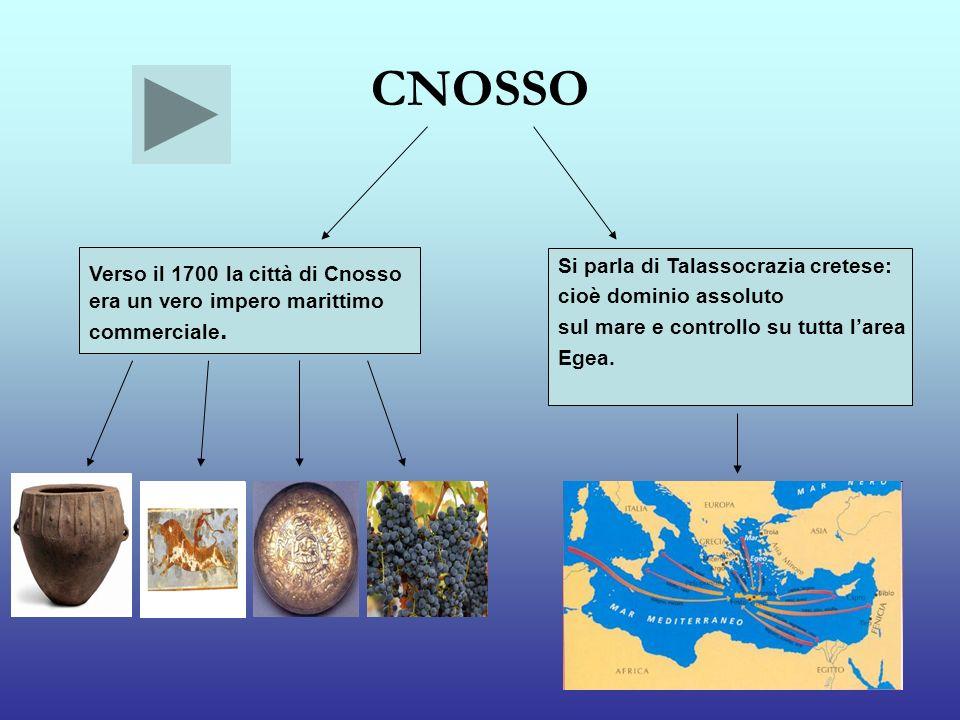 CNOSSO Verso il 1700 la città di Cnosso