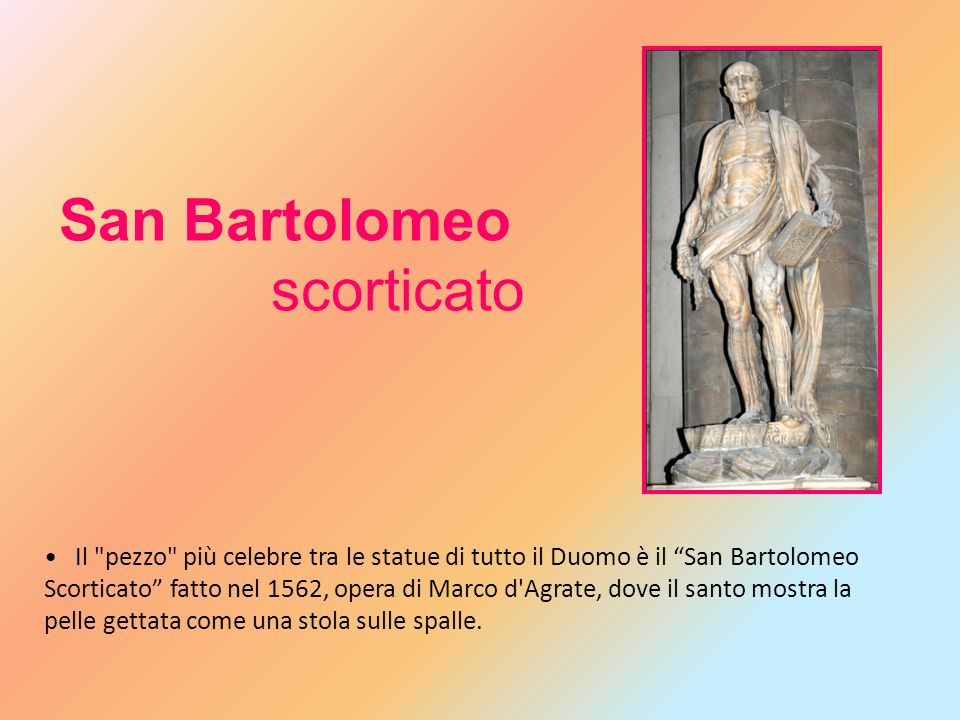 San Bartolomeo scorticato