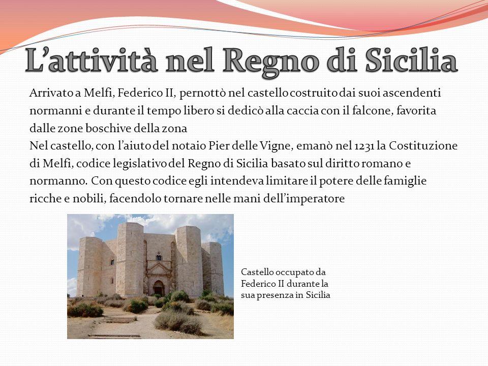 L'attività nel Regno di Sicilia