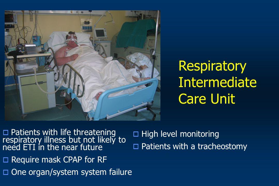 Respiratory Intermediate Care Unit