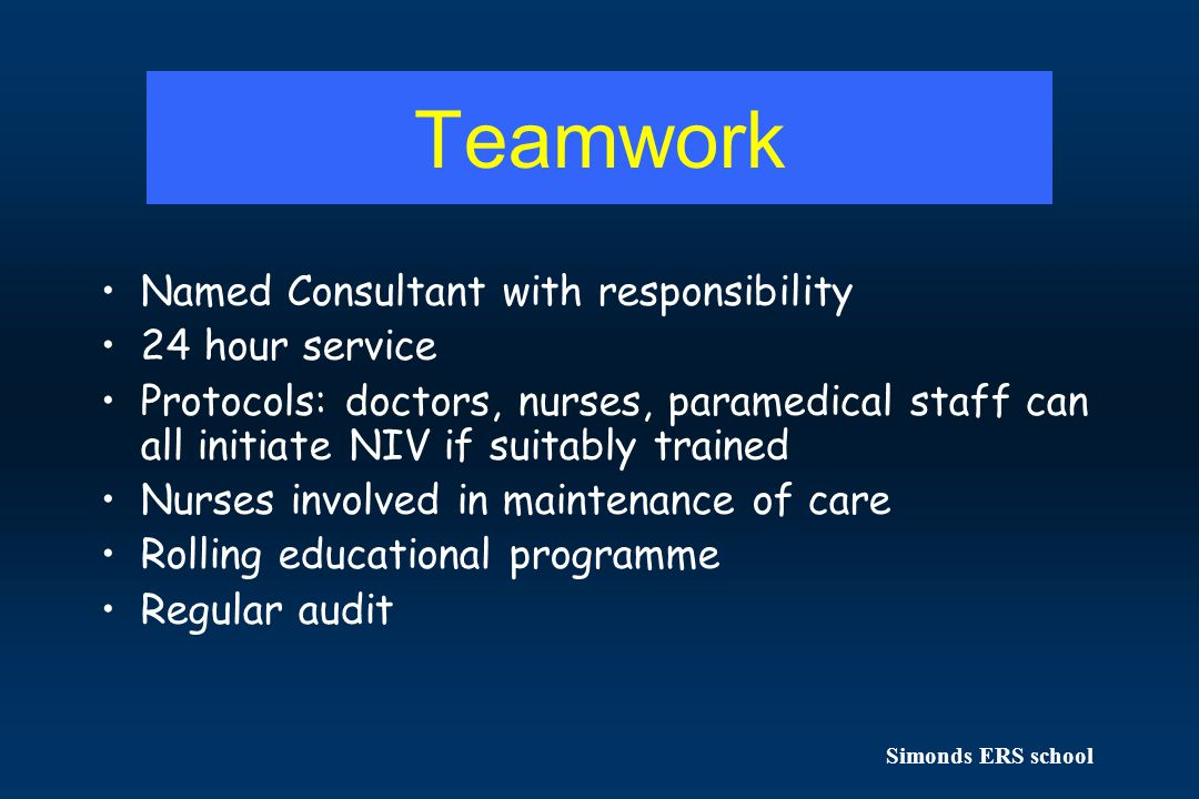Teamwork Named Consultant with responsibility 24 hour service