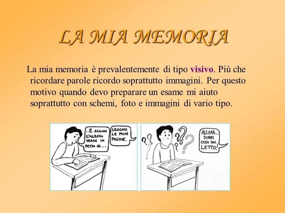 LA MIA MEMORIA