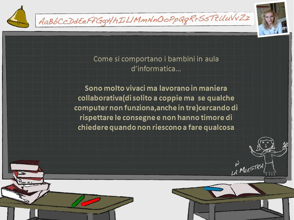 Come si comportano i bambini in aula d'informatica…