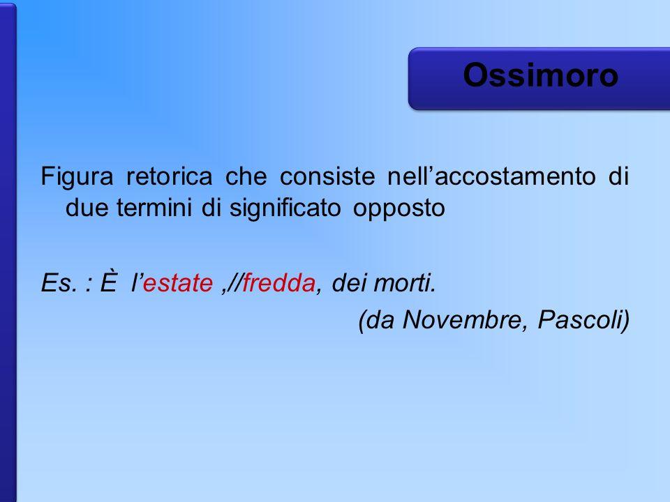Ossimoro