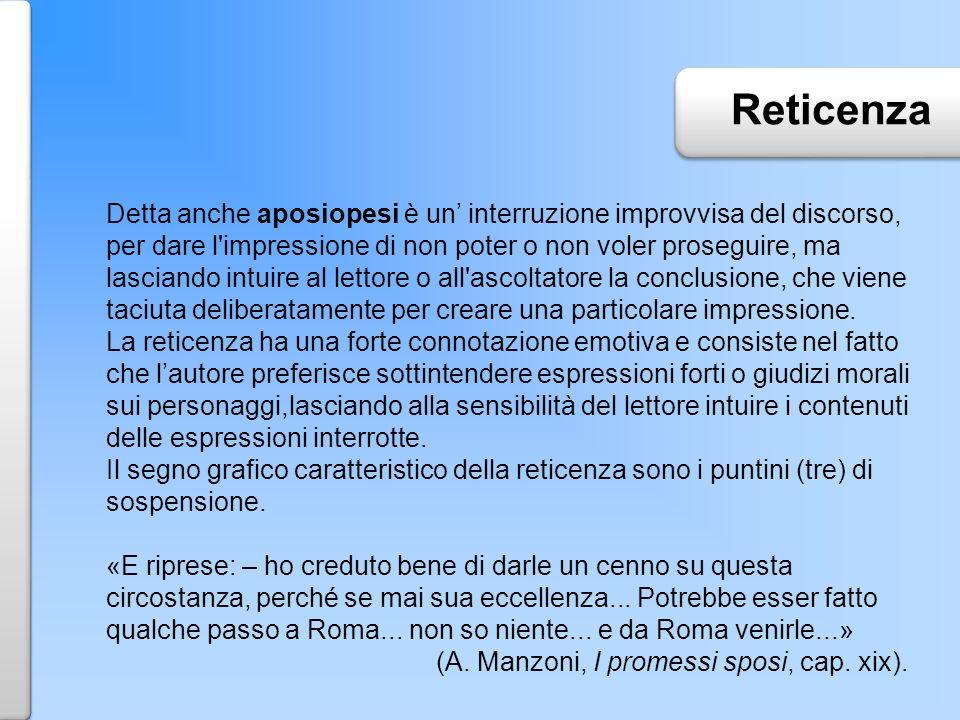 Reticenza