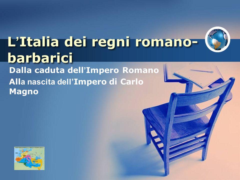 L'Italia dei regni romano-barbarici