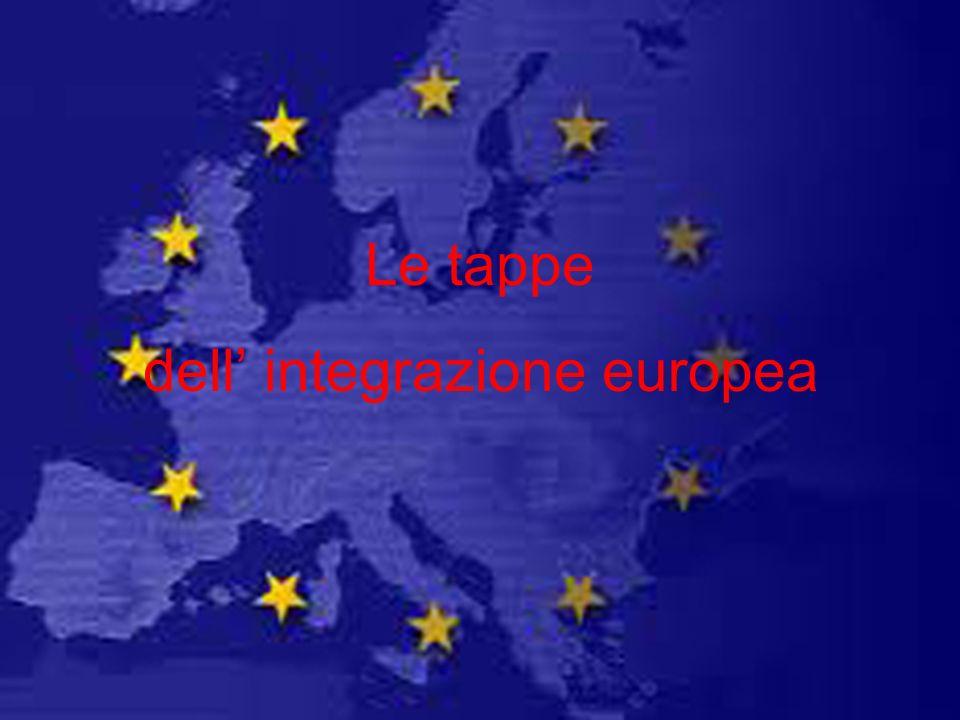 dell' integrazione europea