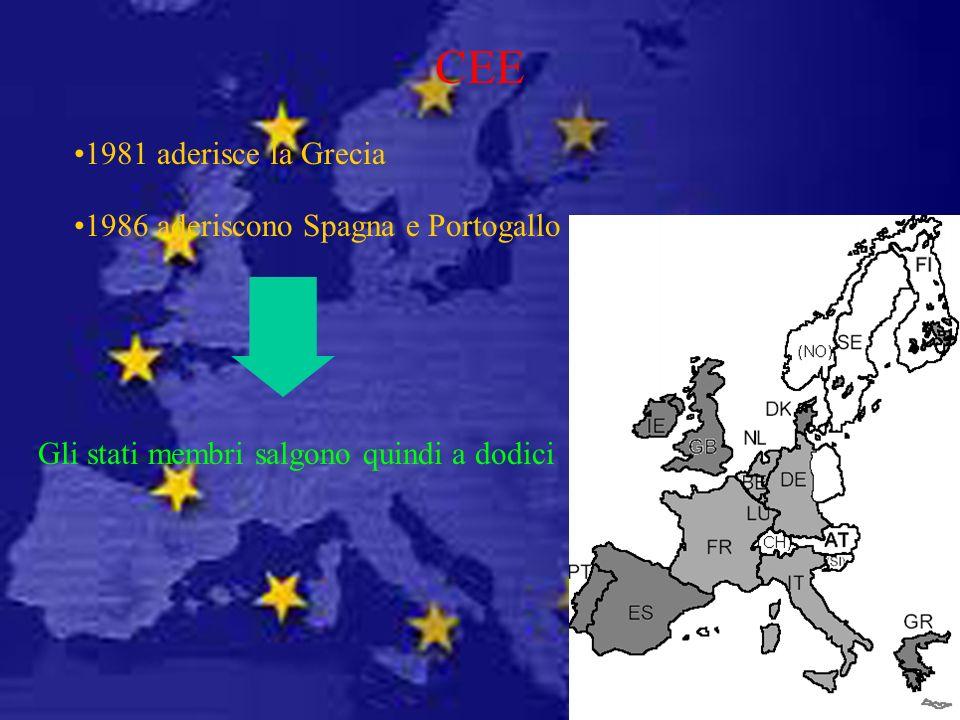 Gli stati membri salgono quindi a dodici