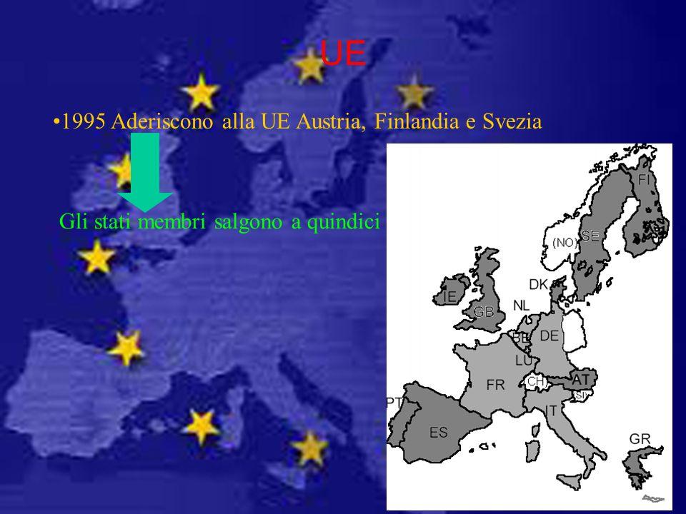 Gli stati membri salgono a quindici
