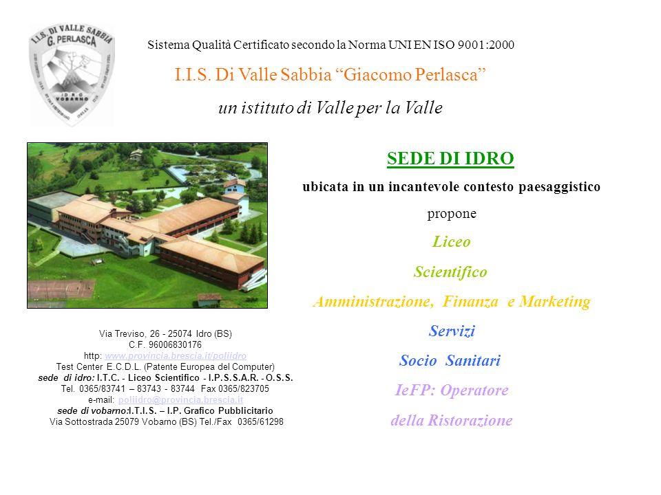 I.I.S. Di Valle Sabbia Giacomo Perlasca