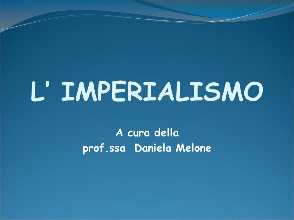 A cura della prof.ssa Daniela Melone