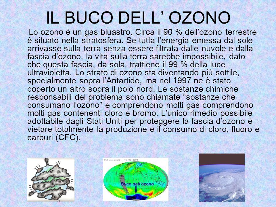 IL BUCO DELL' OZONO