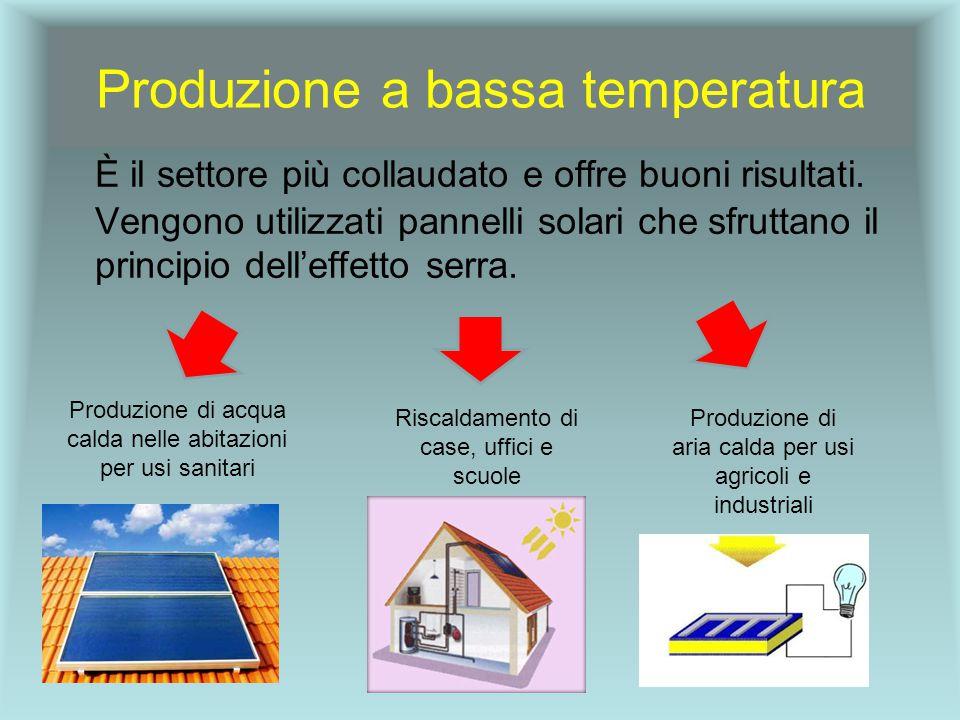 Produzione a bassa temperatura