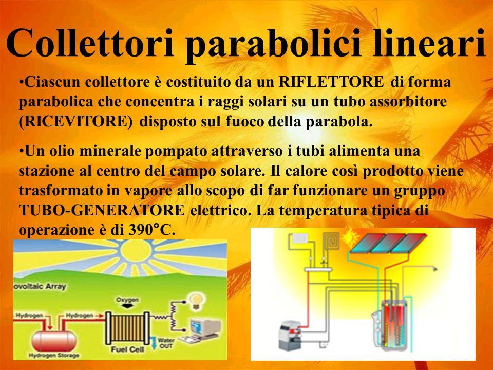 Collettori parabolici lineari