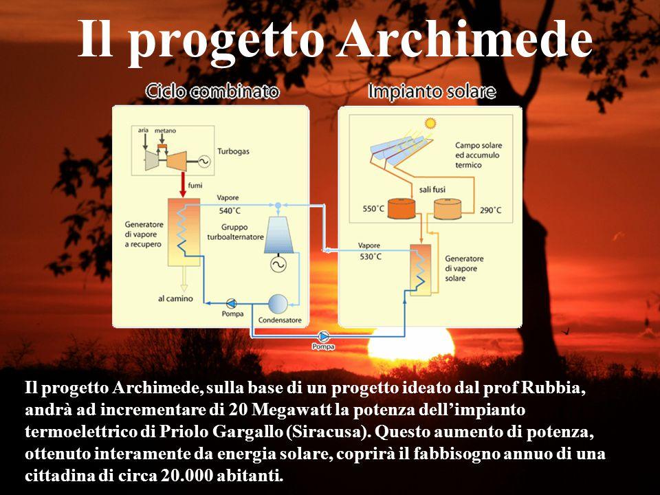 Il progetto Archimede