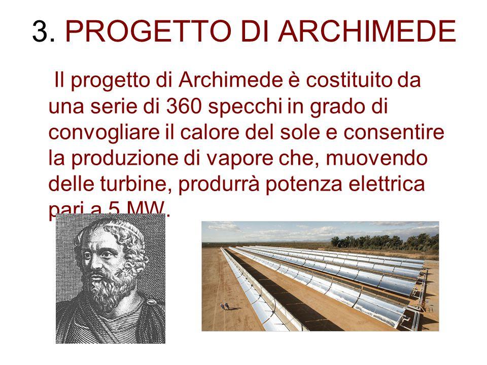3. PROGETTO DI ARCHIMEDE