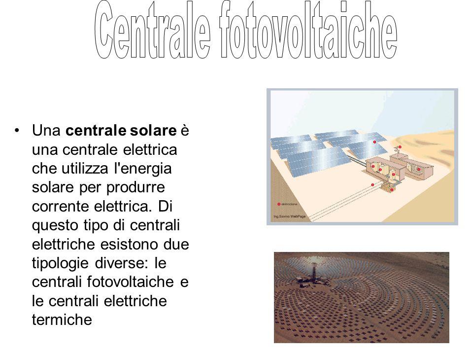 Centrale fotovoltaiche