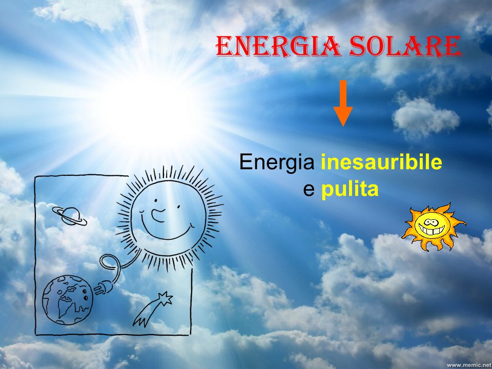 Energia inesauribile e pulita