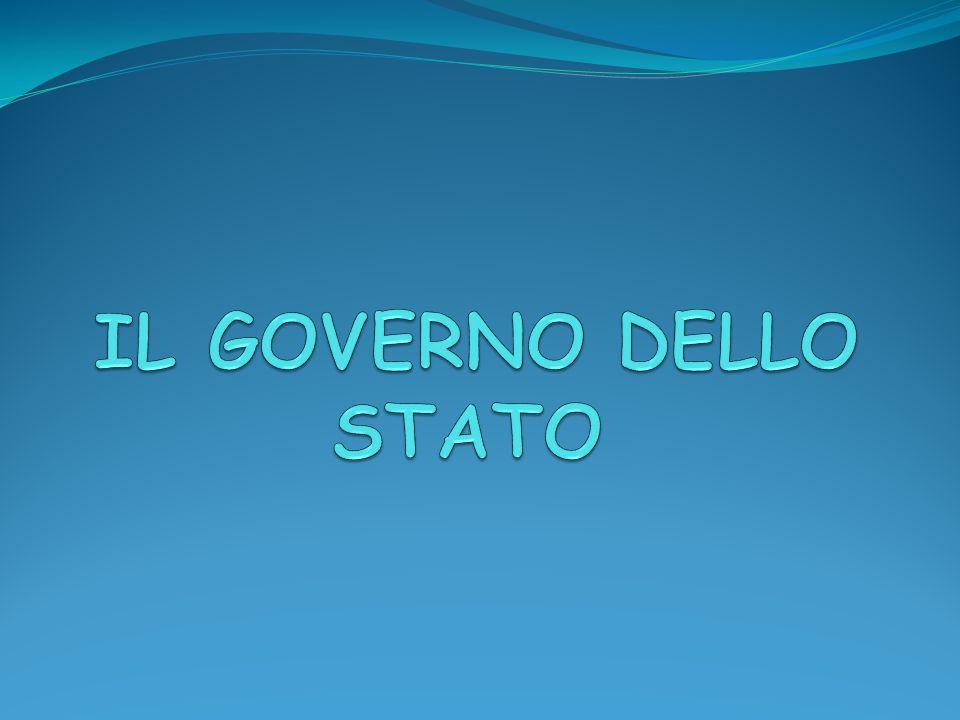 IL GOVERNO DELLO STATO