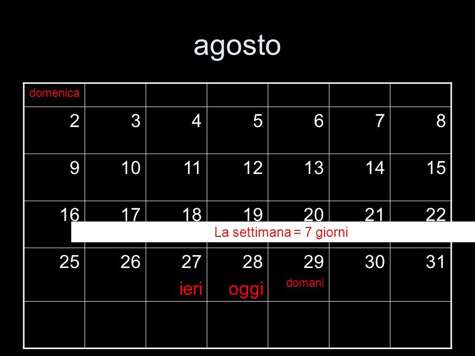 agosto domenica. 2. 3. 4. 5. 6. 7. 8. 9. 10. 11. 12. 13. 14. 15. 16. 17. 18. 19. 20.