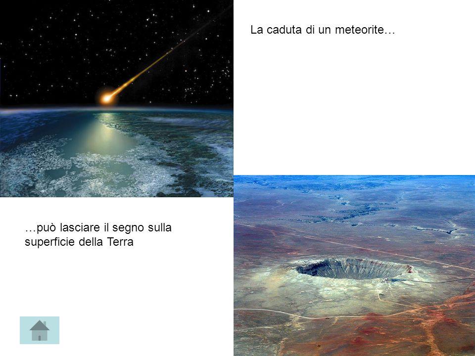 La caduta di un meteorite…