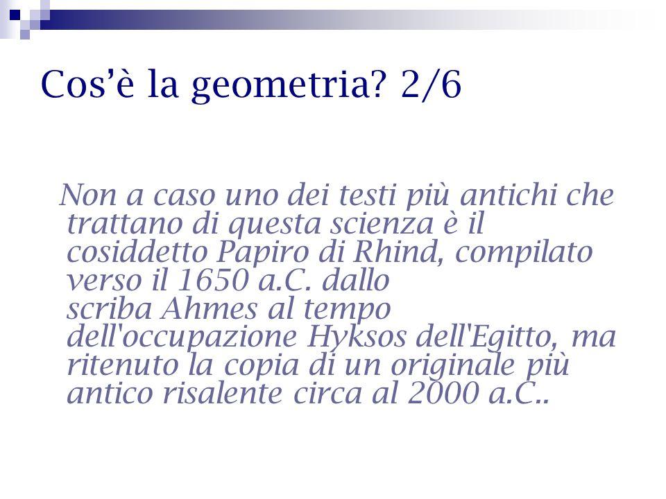 Cos'è la geometria 2/6
