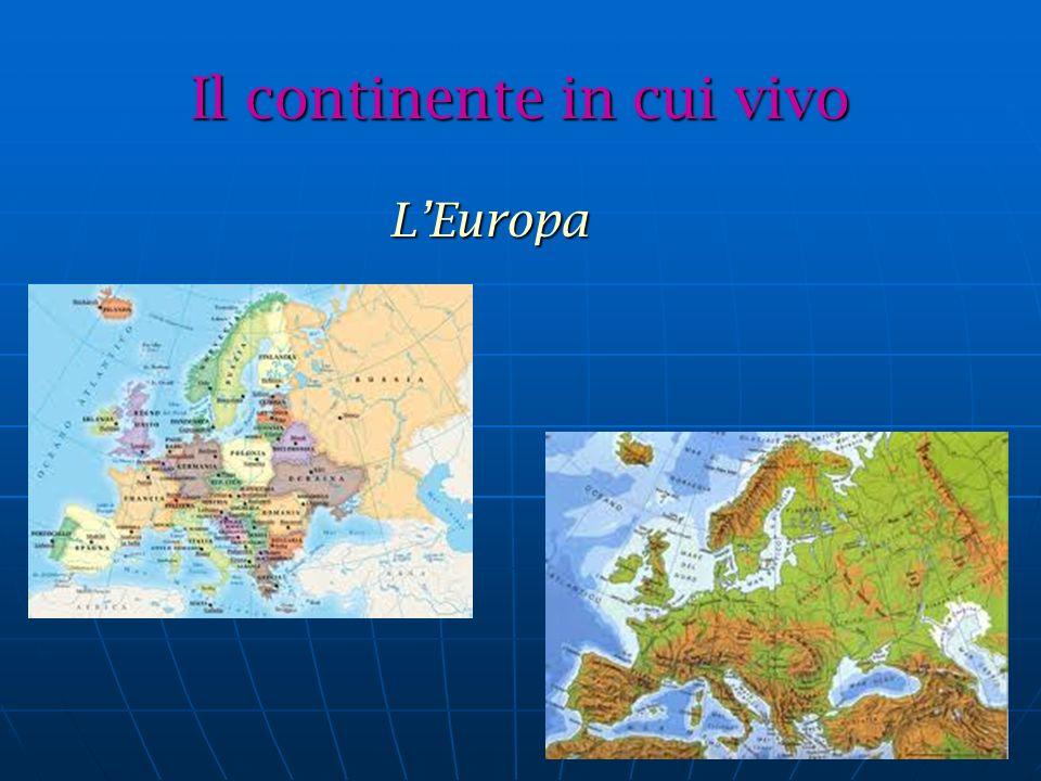 Il continente in cui vivo
