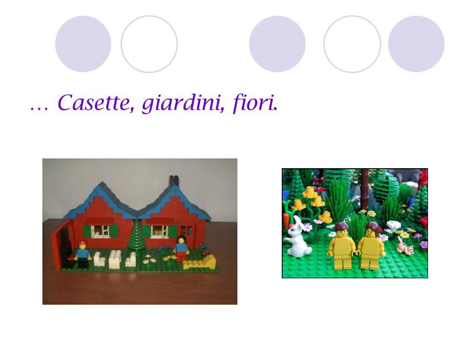 … Casette, giardini, fiori.
