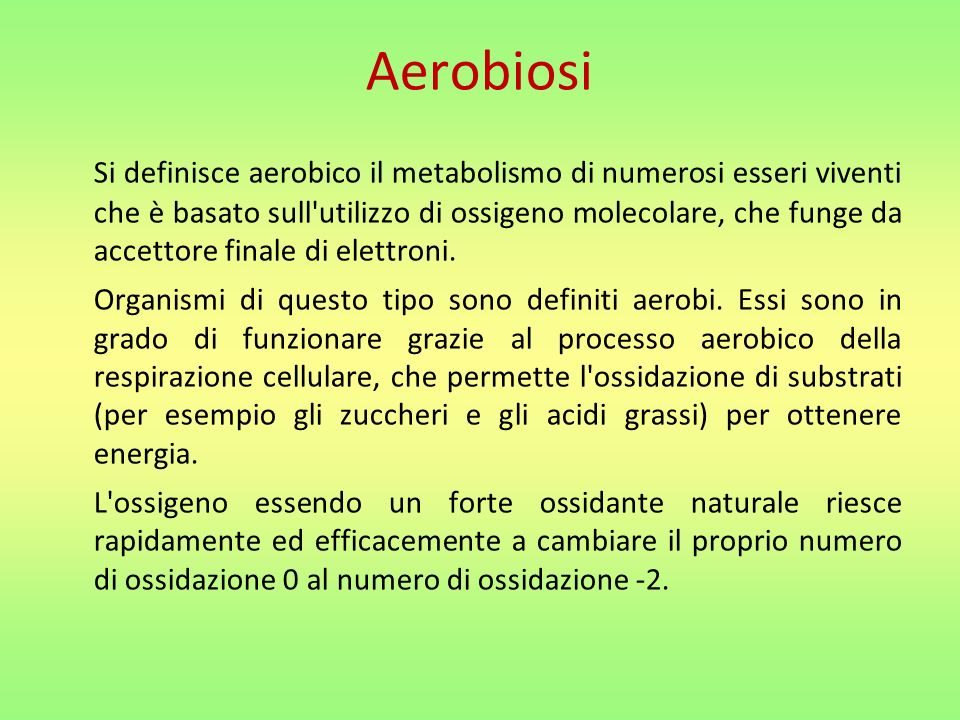 Aerobiosi