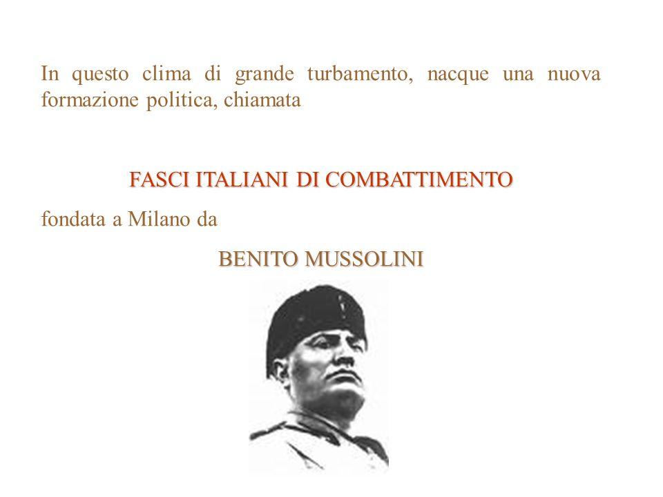 FASCI ITALIANI DI COMBATTIMENTO