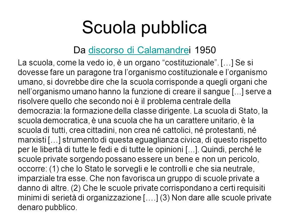 Da discorso di Calamandrei 1950