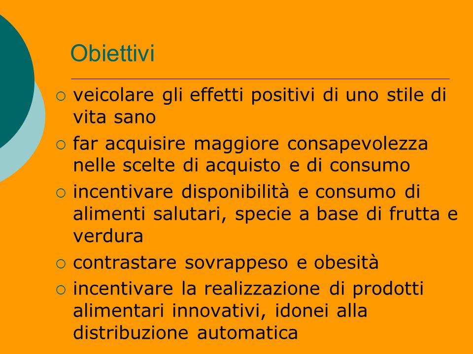 Obiettivi veicolare gli effetti positivi di uno stile di vita sano