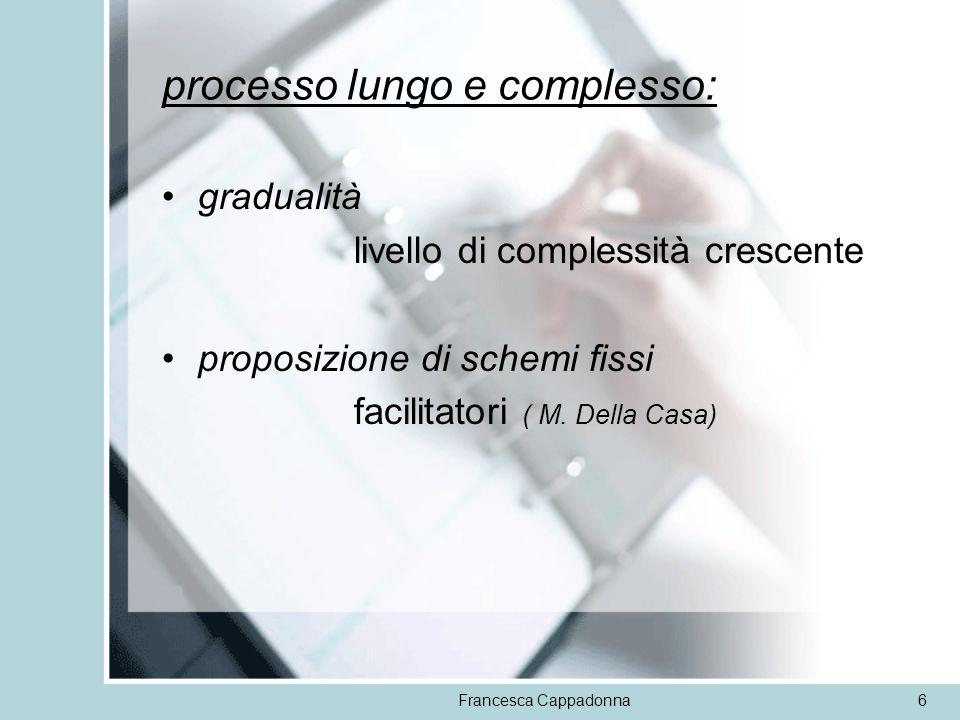 processo lungo e complesso: