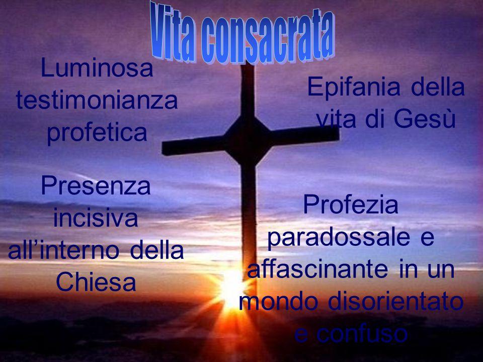 Luminosa testimonianza profetica Epifania della vita di Gesù