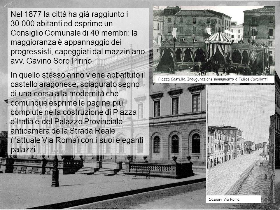 Nel 1877 la città ha già raggiunto i 30