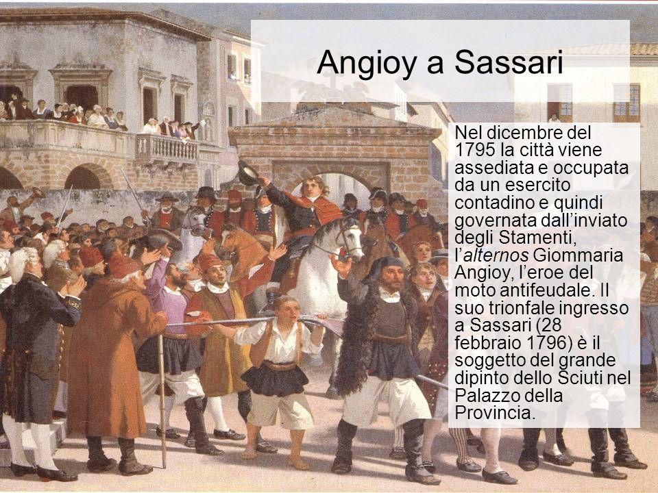 Angioy a Sassari