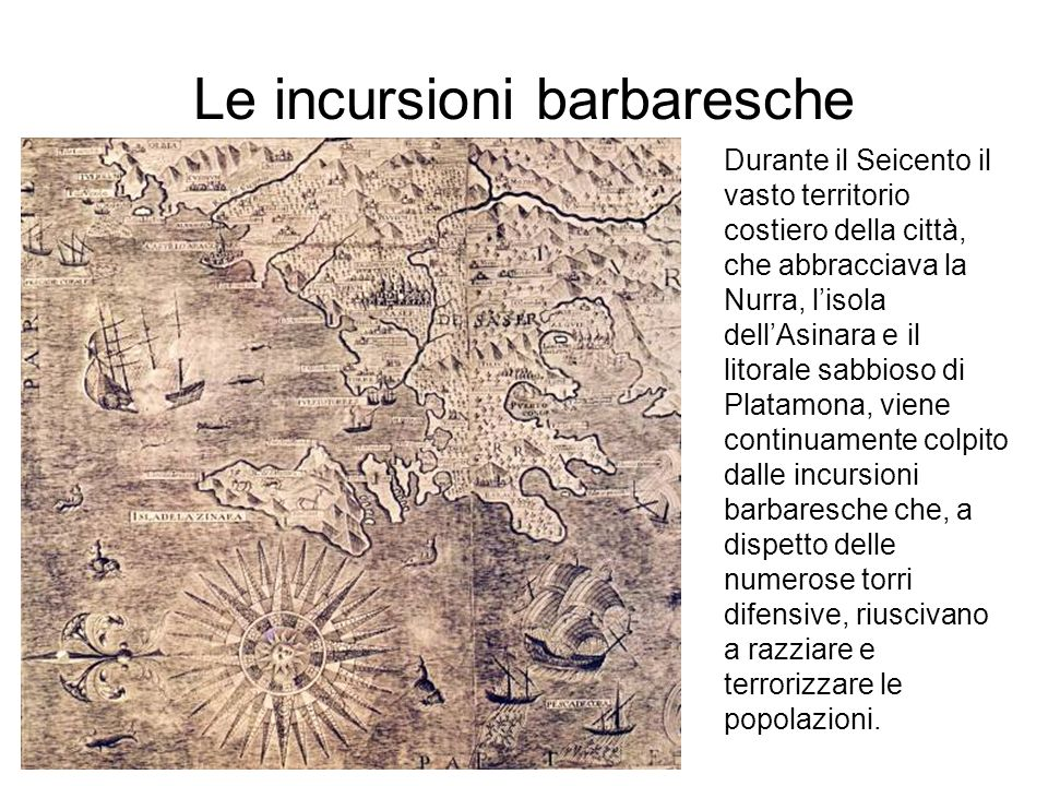 Le incursioni barbaresche