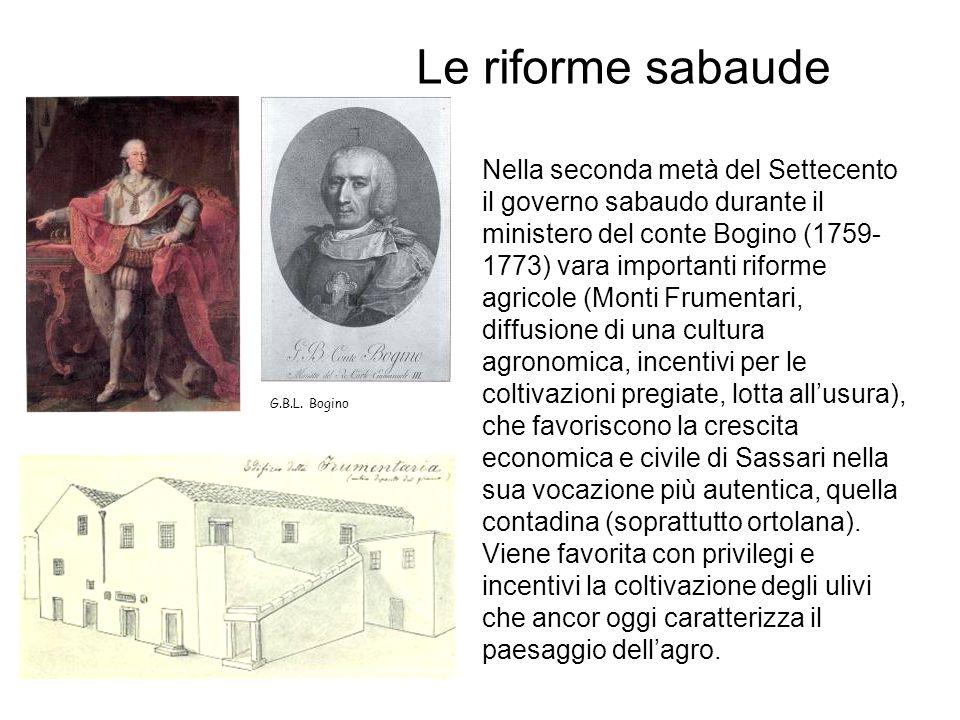 Le riforme sabaude